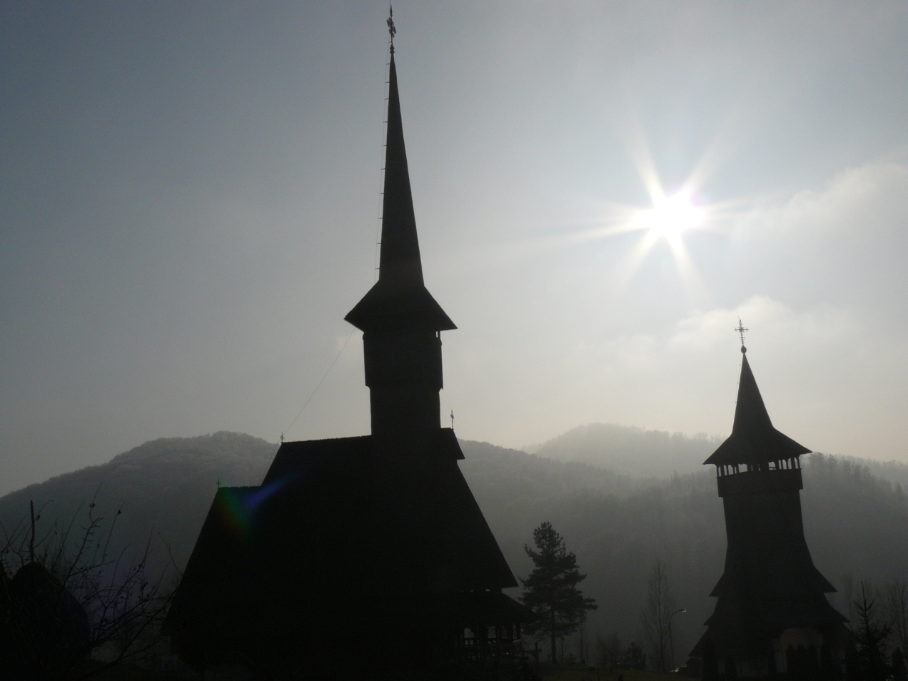 Iarna la Manastirea Barsana