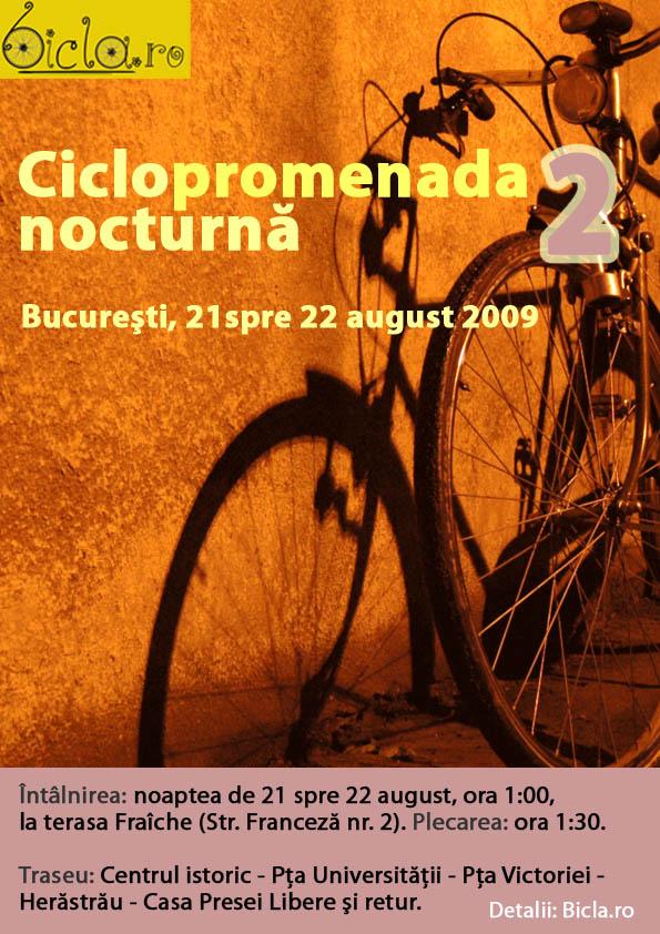 Ciclopromenada nocturna 2