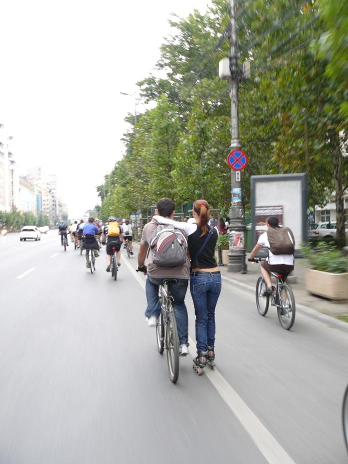cuplu pe roti la BikeWalk#6