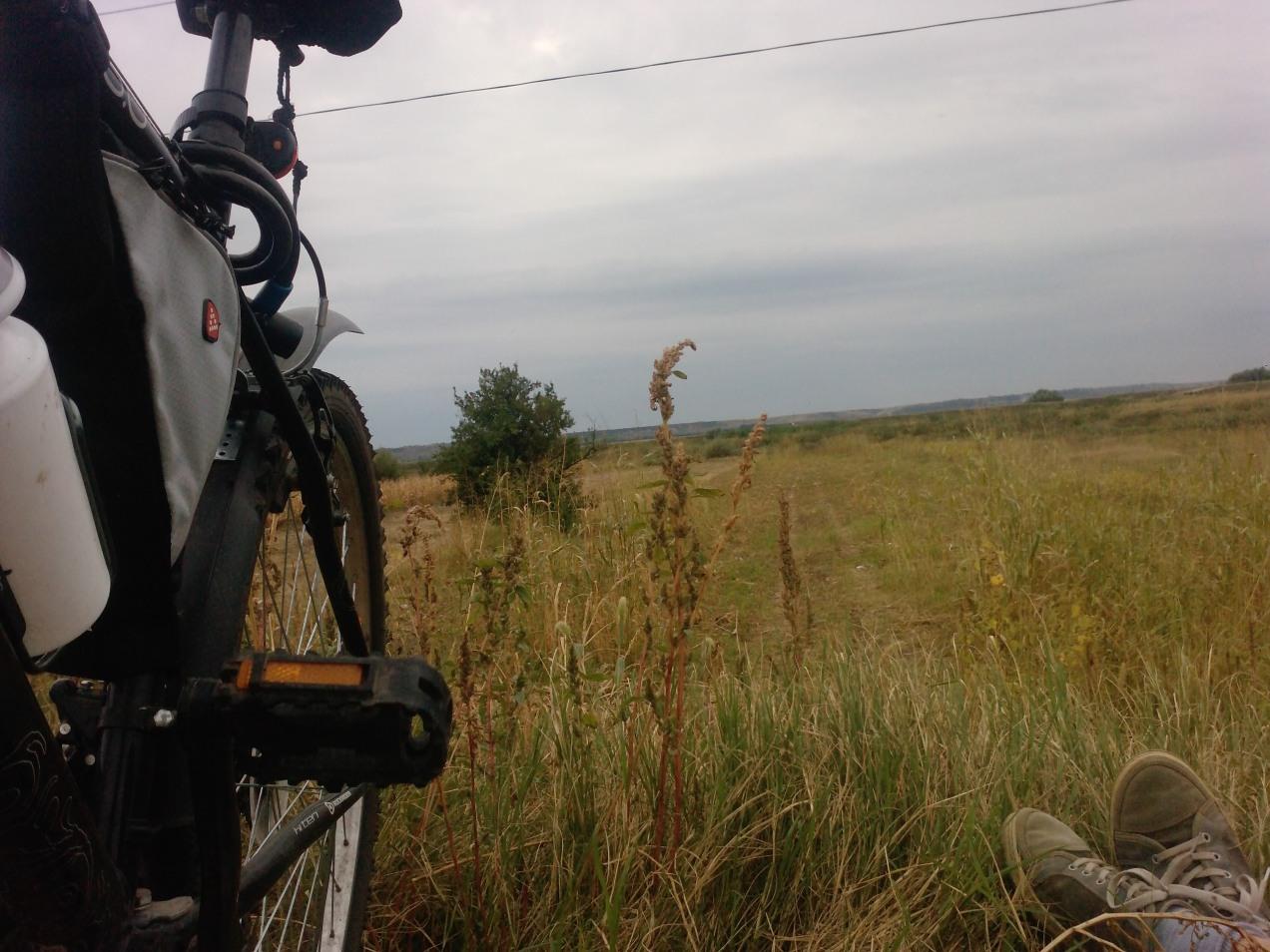 160 Km singur pe bicla