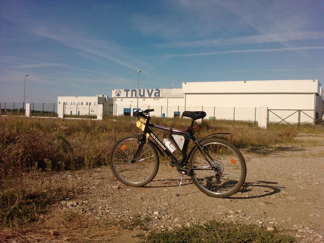 160 Km singur pe bicla - pauza de dezmortire