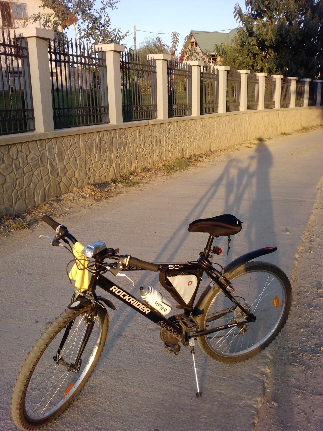 160 Km singur pe bicla – final de drum, acasa la Chitila