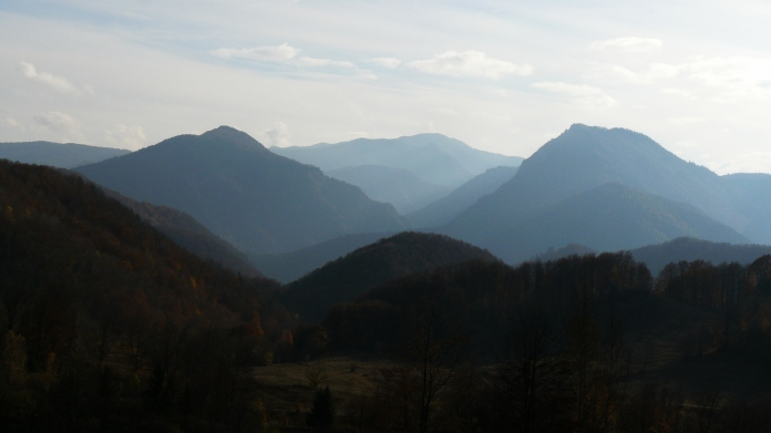 munti de toamna