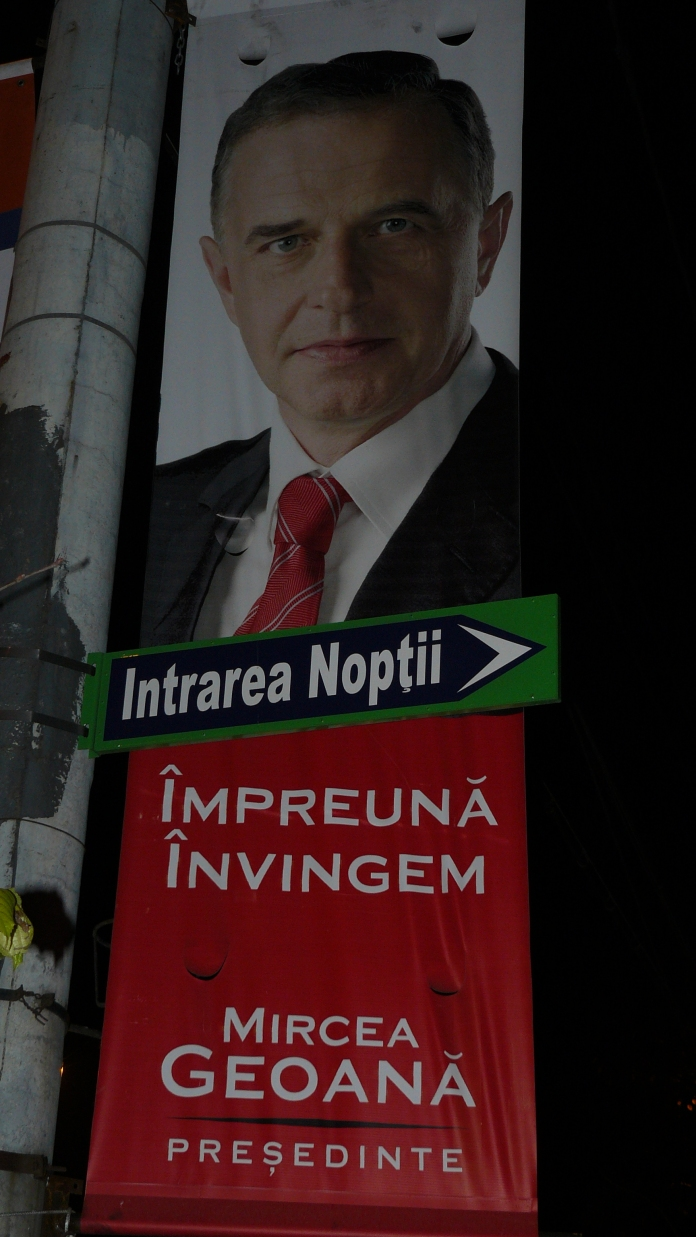 Banner Mircea Geoana