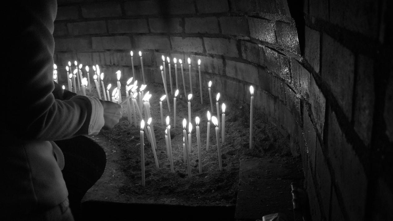 Ruga la Manastirea Barsana, Maramures
