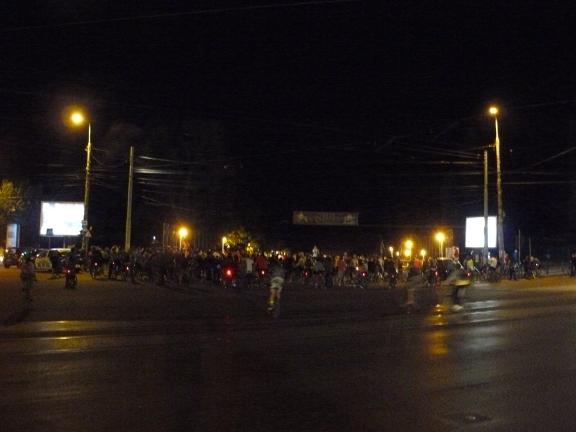 Foto Ciclopromenada nocturna editia 3