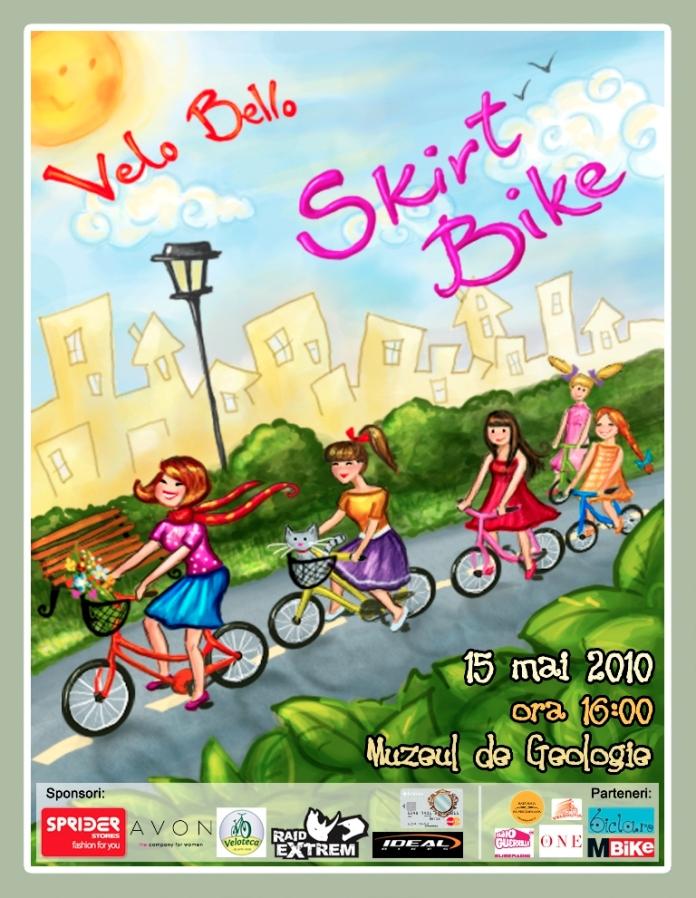 Poster Skirtbike Editia 1