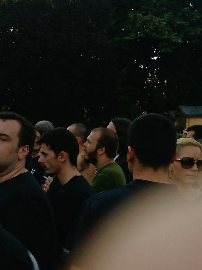 Poza Luna Amara in public la Alice in Chains la Sonisphere