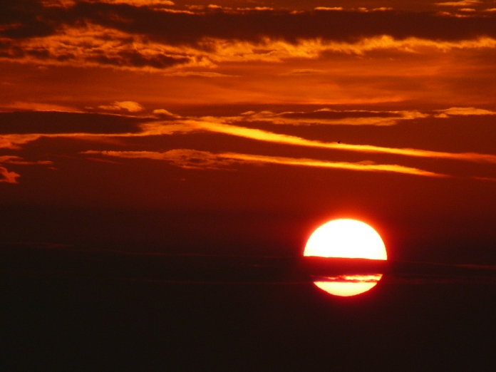 Fotografie rasarit de soare in Vama Veche