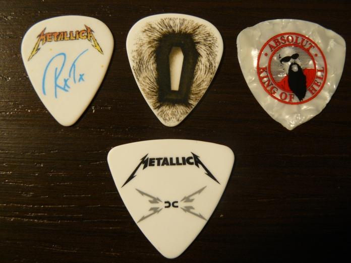 Foto pene de chitara de la Sonisphere - Metallica si Slayer