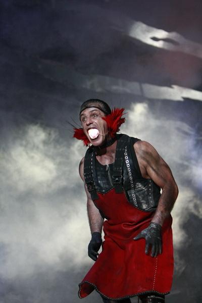 Poza Rammstein concert Sonisphere