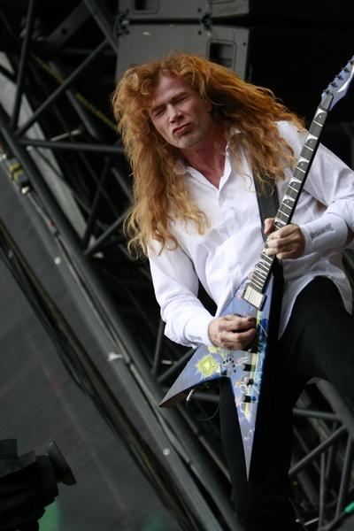 Poze concert Megadeth la Sonisphere