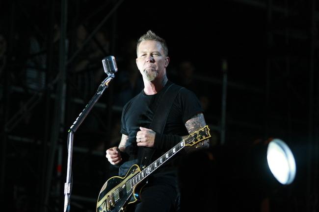 Poze concert Metallica la Sonisphere