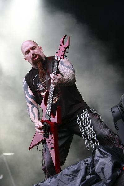 Poze concert Slayer la Sonisphere