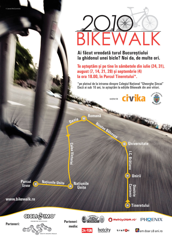 Foto Afis Bikewalk 24 Iulie