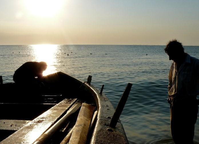 Foto rasarit si pescari in Vama Veche