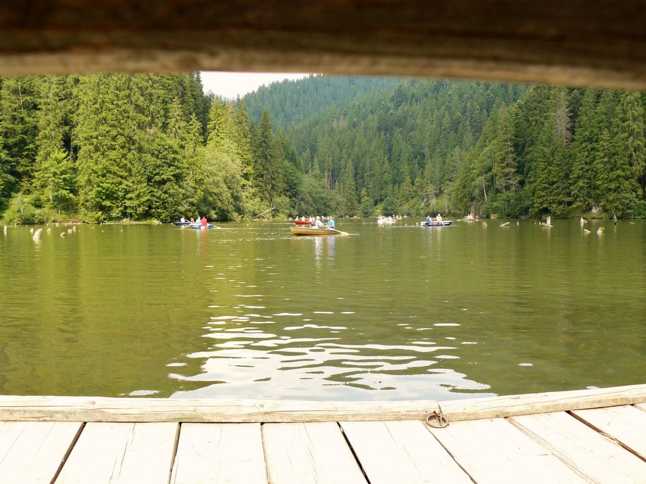 Foto Lacul Rosu, editia Lecturi Urbane de Piatra Neamt