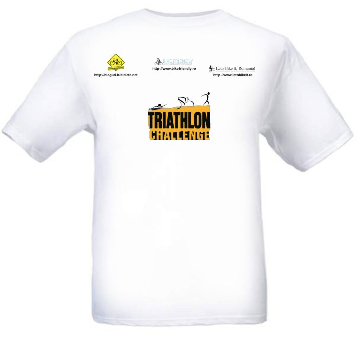 Foto tricou Triathlon Echipa Bloggerilor