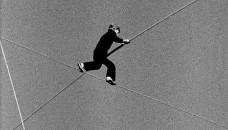 Foto Philippe Petit The Man on Wire