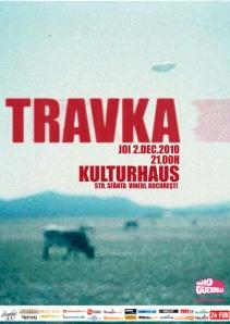 Afis concert Travka in Kulturhaus