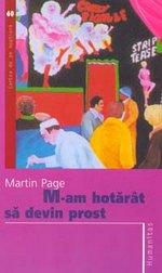 Coperta - Martin Page - M-am hotarat sa devin prost