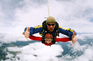 Foto Sky diving - Despre confort