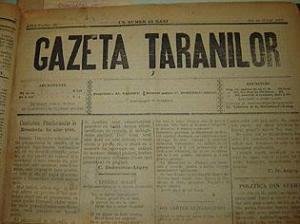 Fotocopie ziar Gazeta Taranilor