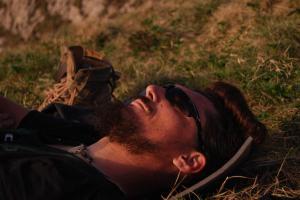 Fotografie - Normalitatea este o lupta - am obosit - somn la Vf. La Om