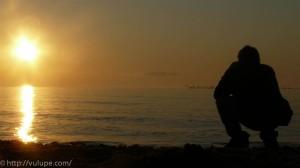 Fotografie inceputuri - rasarit de soare in Vama Veche
