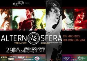 Afis concert Alternosfera