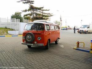 Scooby Doo, masina de suport, la plecare