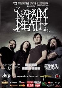 Napalm Death pe aripi de moarte
