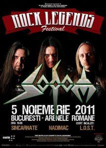 Afis Concert Sodom Rock Legends