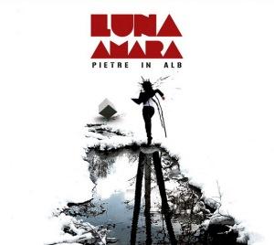 Coperta album Pietre in alb Luna Amara