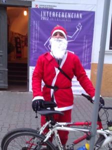 La inceput de CicloMos - Mas Craciun pe bicicleta